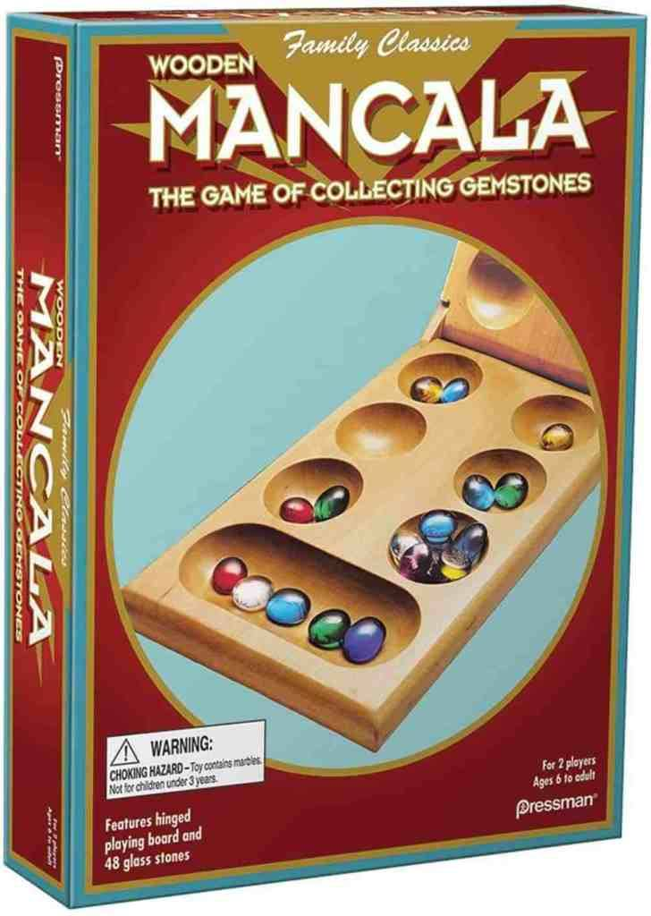 Amazon: Pressman Mancala – Real Wood Folding Set, with Multicolor Stones for only $8.92 (Reg: $11.99)