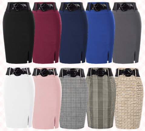 Amazon: Pencil Skirt for only $5.99 (Reg: $17.99)